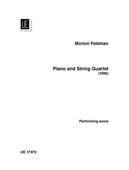 Piano and String Quartet