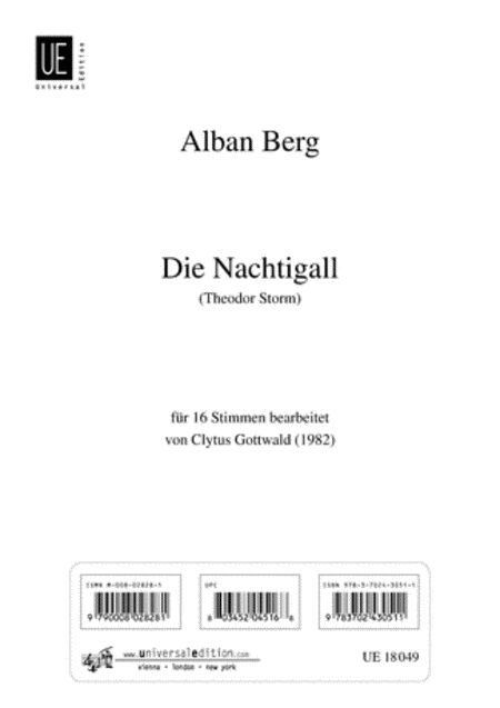 Nachtigall, 16 Part Chorus
