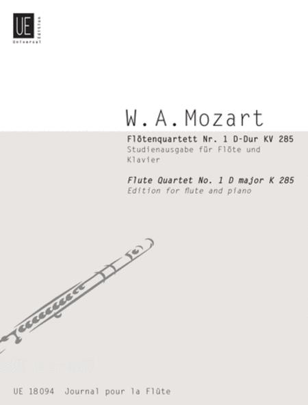 Flute Quartet 1 in D, Flute/Pi