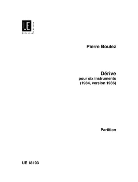 Derive, Flute/Clarinet/Violin/Cello/Vibra/Piano