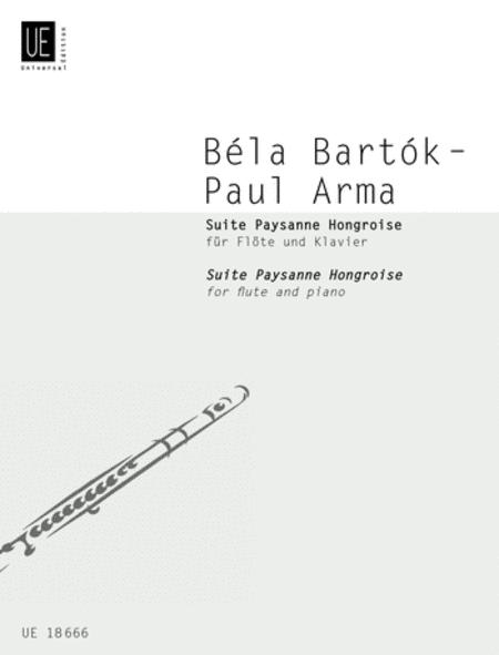 Suite Paysanne Hongroise, Flute/P