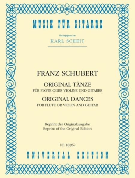 Original Dances, Flute and Guitar