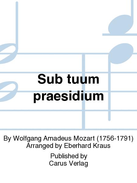 Sub tuum praesidium