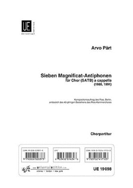 7 Magnificat-Antiphonen
