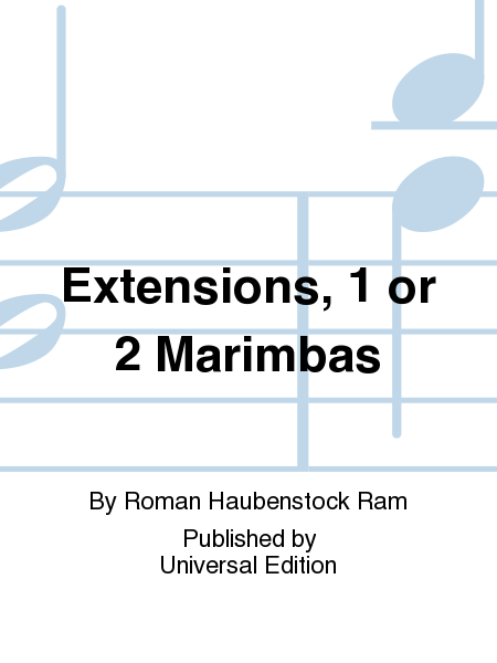 Extensions, 1 or 2 Marimbas