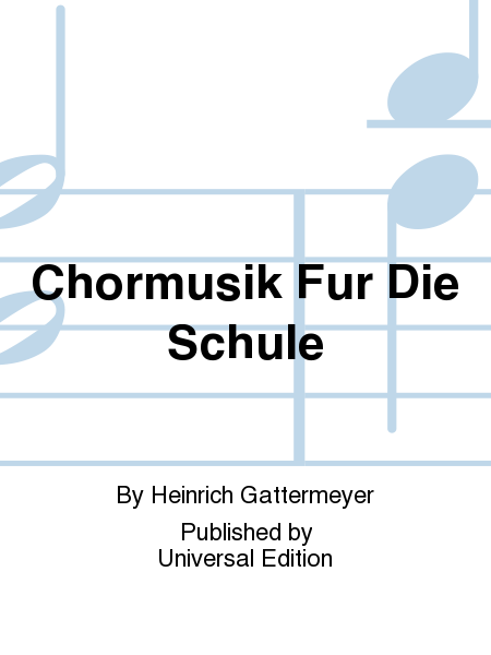 Chormusik Fur Die Schule
