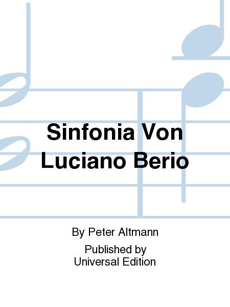 Sinfonia Von Luciano Berio