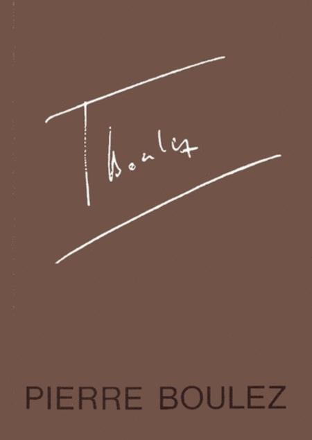 Festschrift Pierre Boulez