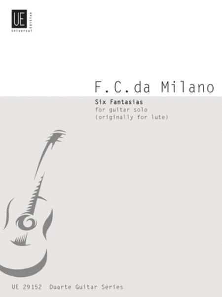 Fantasias, 6, Guitar (Duarte)