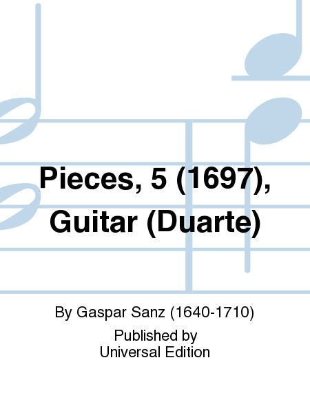 Pieces, 5 (1697), Guitar (Duarte)