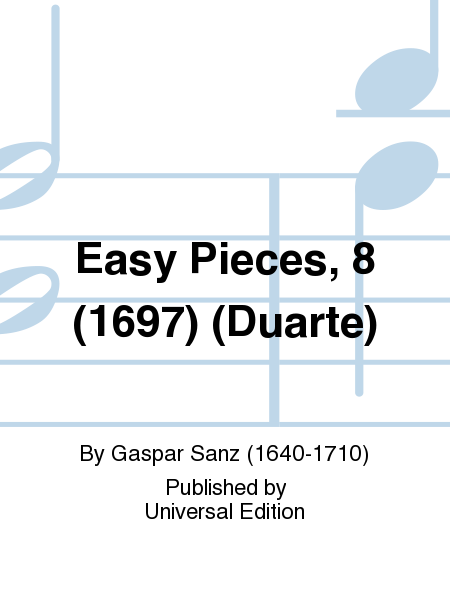 Easy Pieces, 8 (1697) (Duarte)