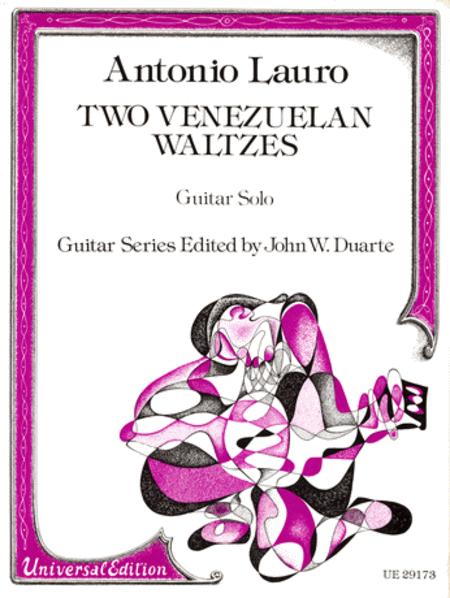Venezuelan Waltzes, 2, Guitar