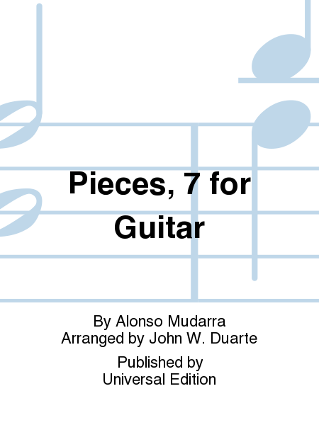Pieces, 7 For Guitar