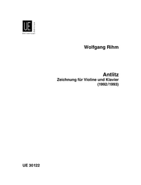 Antlitz, Violin and Piano