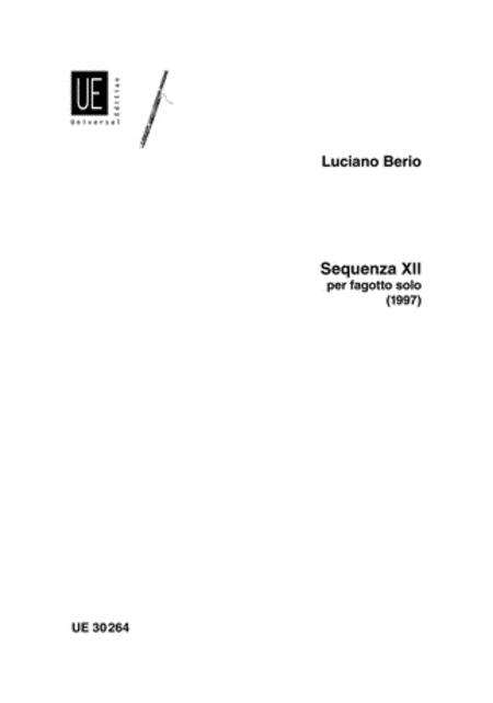 Sequenza 12, Bassoon