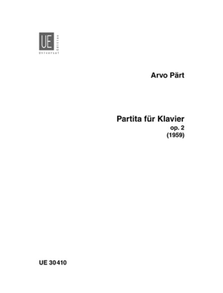 Partita for Piano, Op. 2