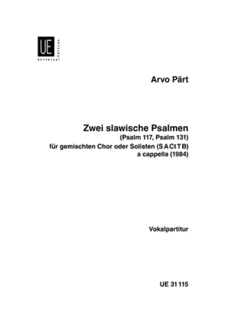 Slavic Psalms, 2, SATB