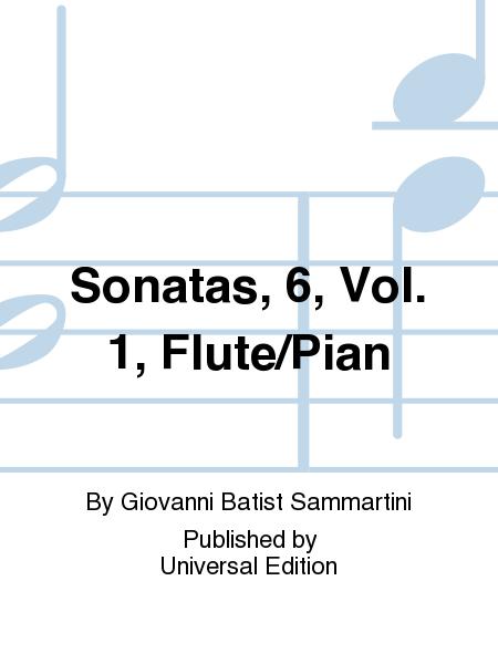 Sonatas, 6, Vol. 1, Flute/Pian