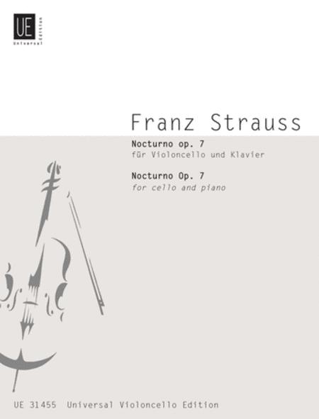 Nocturno Op 7 Cello/Piano