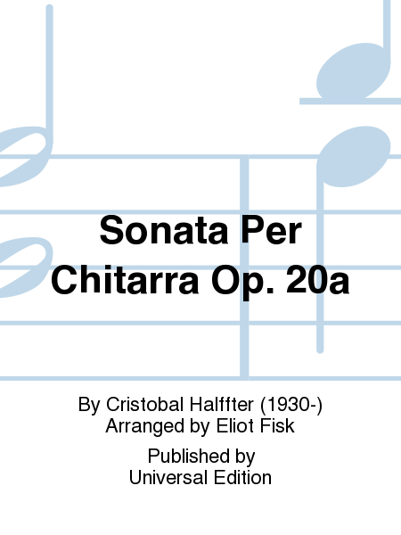 Sonata Per Chitarra Op. 20a