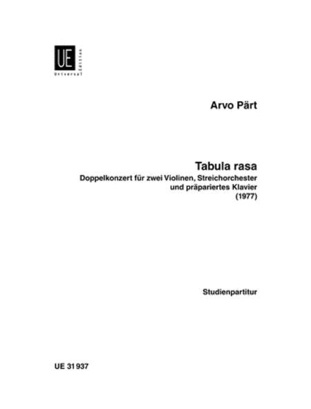 Tabula Rasa (1977)