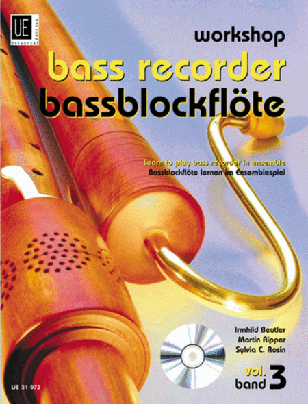 Workshop Bass Recorder Vol 3 (with CD)