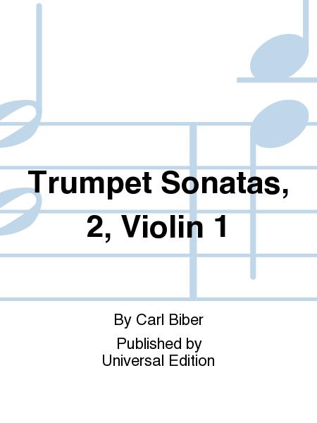 Trumpet Sonatas, 2, Violin 1
