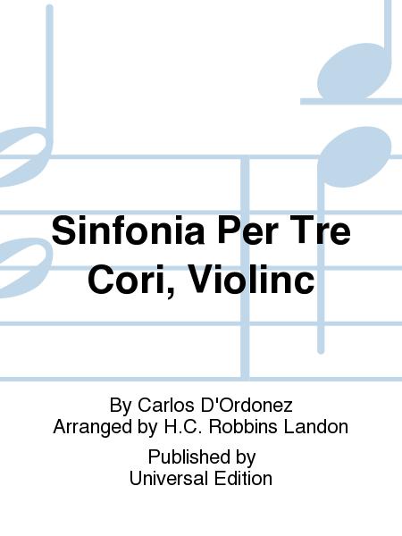 Sinfonia Per Tre Cori, Violinc