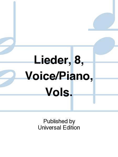 8 Lieder, Voice/Piano