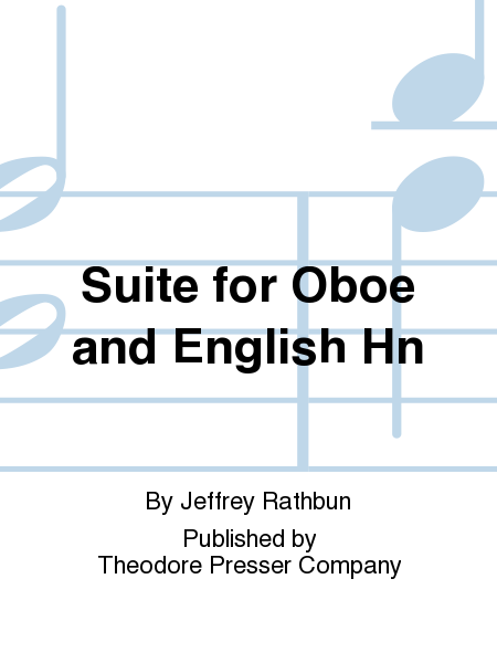Suite for Oboe and English Hn