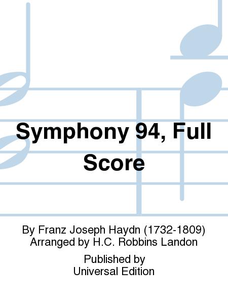 Symphony 94, Full Score