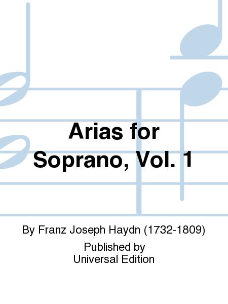 Arias for Soprano, Vol. 1