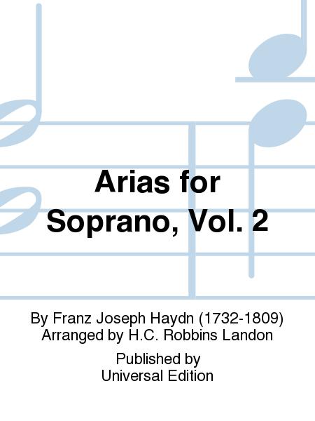 Arias for Soprano, Vol. 2