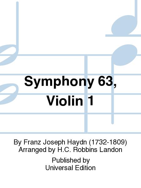 Symphony 63, Violin 1