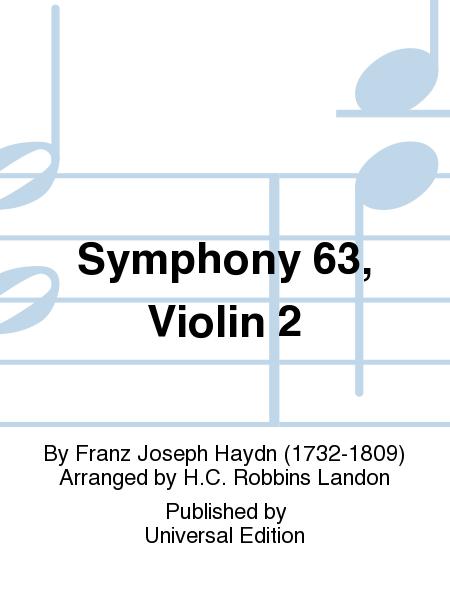Symphony 63, Violin 2