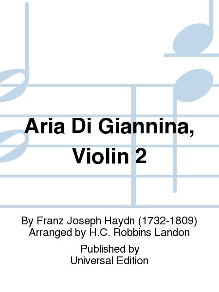 Aria Di Giannina, Violin 2