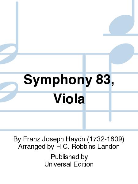 Symphony 83, Viola