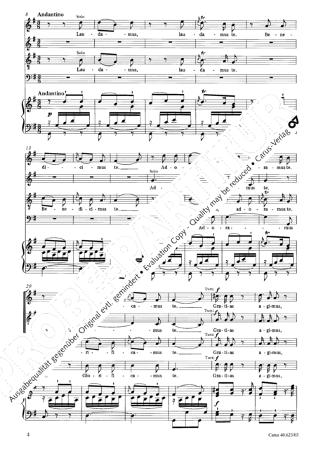 Missa brevis in G