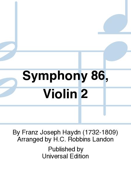 Symphony 86, Violin 2
