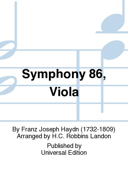Symphony 86, Viola