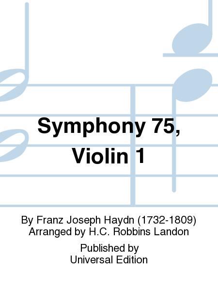 Symphony 75, Violin 1