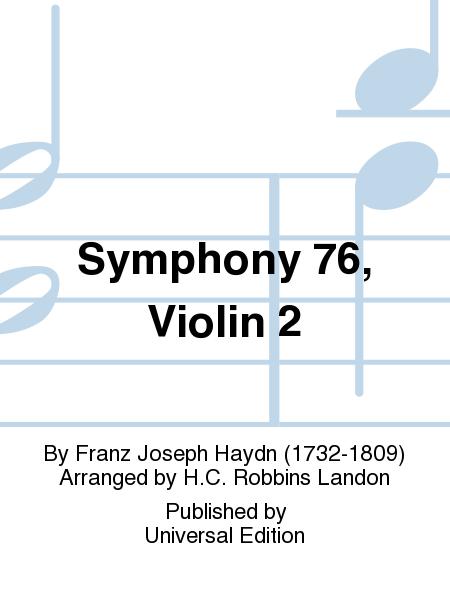 Symphony 76, Violin 2