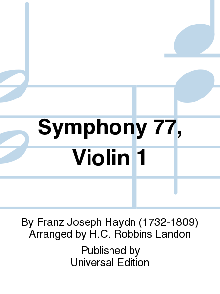 Symphony 77, Violin 1