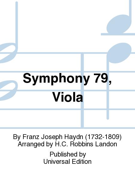 Symphony 79, Viola