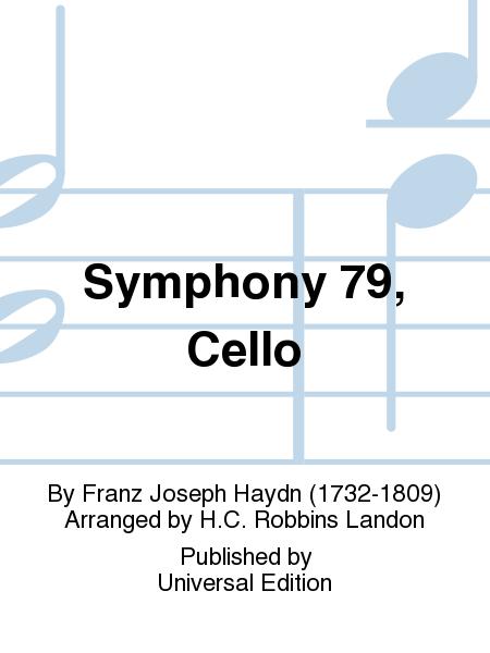 Symphony 79, Cello