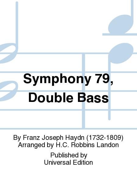 Symphony 79, Double Bass