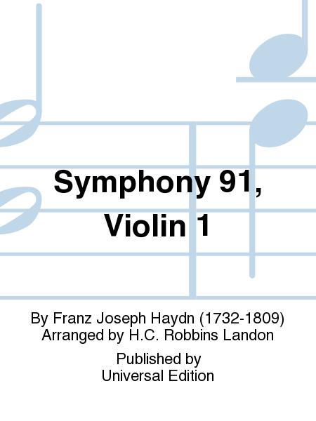 Symphony 91, Violin 1