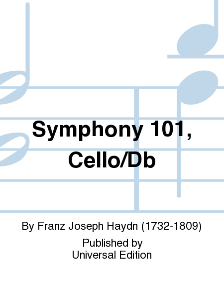 Symphony 101, Cello/Db