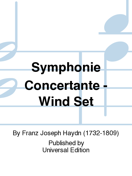 Symphonie Concertante - Wind Set