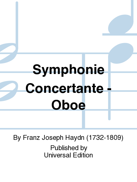 Symphonie Concertante - Oboe